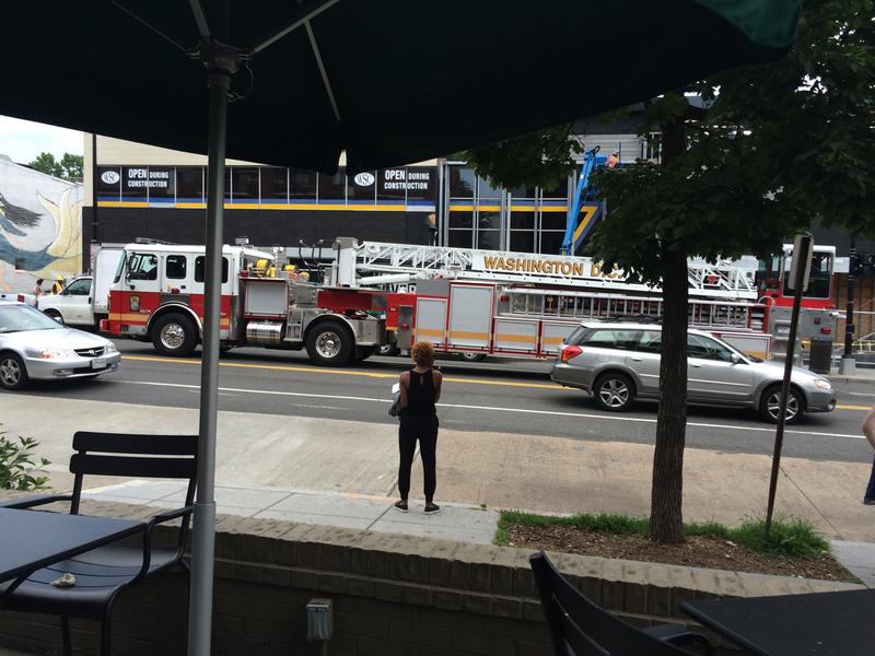 W-camion de pompier